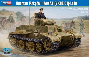 83805 Танк German Pzkpfw.I Ausf.F (VK1801)-Late (Hobby Boss) 1/35