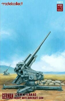 UA72094 German 128mm Flak 40 Heavy Anti-Aircraft Gun
