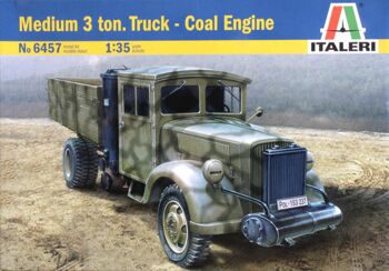 6457 Грузовик Medium 3 ton Truck-Coal Engine