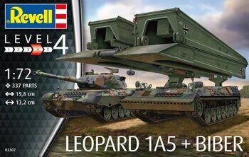 "03307 Танк Leopard 1A5 & Bridgelayer ""Biber"""