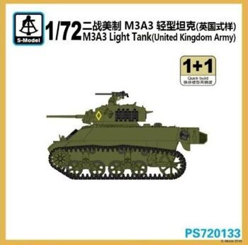 PS720133 M3A3 Light Tank (United Kingdom Army)