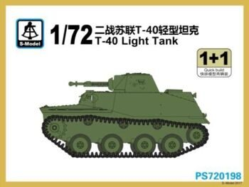 PS720198 T-40 Light Tank