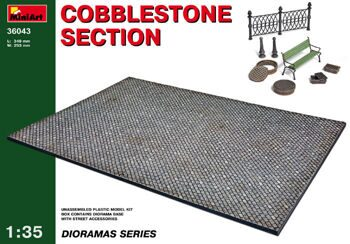 36043 1/35 COBBLESTONE SECTION