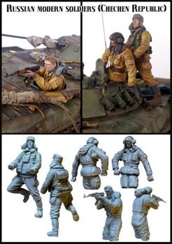 35038 Russian modern soldiers in fight