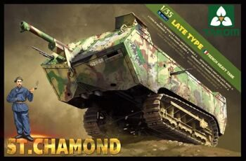 2012 1/35 French Heavy Tank St.Chamond
