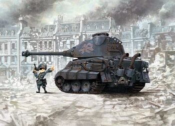 WWT-003 GERMAN HEAVY TANK  KING TIGER