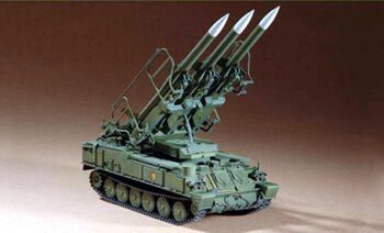 07109 1/72 Russian SAM-6 antiaircraft missile