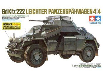 35270 Sd.Kfz.222 w/Photo Etched Parts
