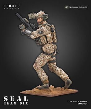SM12001 1/16 Seal team six 120mm