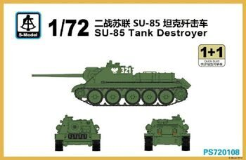 PS720108 SU-85 Tank Destroyer