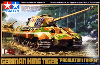 32536 1/48 King Tiger Production Turret