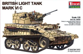 56009 1/35 British Light Tank MK.VI C