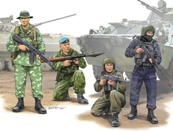 00437 1/35 Russian Special Operation Force