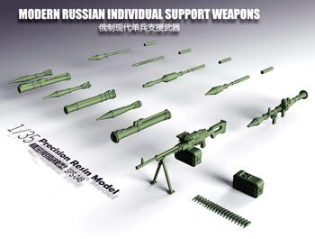 SPS-048 1/35  Modern Russian Individual Support Weapons
