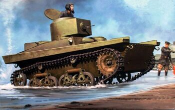 83819 Танк Soviet T-37A Light Tank (Hobby Boss) 1/35