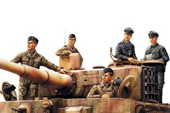 84401 German Panzer Tank Crew (Normandy 1944) 1/35