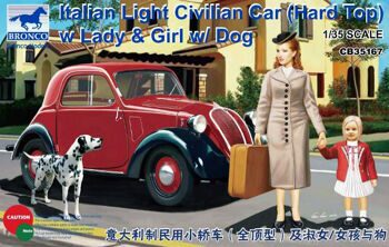 CB35167 1/35 Italian Light Civilian Car (Hard Top)