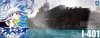 009291 1/700 ARPEGGIO OF BLUE STEEL -ARS NOVA- Submarine I-401