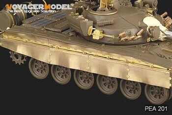 PEA201 Modern Russian T-72M1 MBT Side Skit