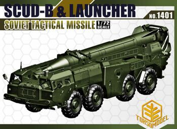 1401 1/72 USSR Scud-B Louncher SOVIET TACTICAL MISSILE