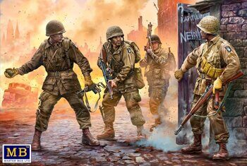 MB3574 US Paratroopers, Europe, 1944-1945