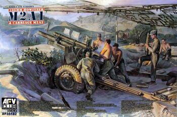 AF35182 105mm HOWITZER M2A1 Carriage M2A2(WW II Version)