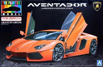 011386 1/24 LAMBORGHINI AVENTADOR LP700-4 ORANGE PEARL