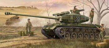 82426 Танк T26E4 Super Pershing  (Hobby Boss) 1/35