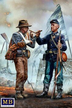 MB35198 American Civil War series. Family Reunited - Brothers Meet Again