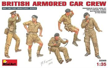 35069   British  armored car crew