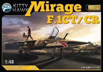 KH 80111 1/48 Dassault Mirage F.1CT/CR Kit First Look