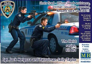 24064 Shots fired - Sgt Jack Melgoza and Patrolman Sally Taylor