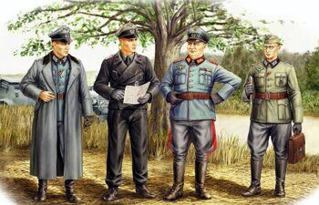 84406 German Officers 1/35