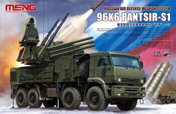 SS-016 1/35 RUSSIAN AIR DEFENSE WEAPON SYSTEM 96K6 PANTSIR-S1