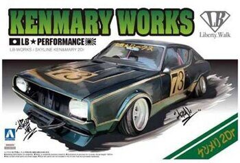 00981 1/24 LB WORKS KEN MARY 2Dr