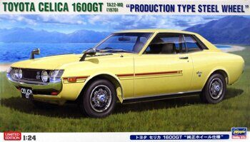 "20265 TOYOTA CELICA 1600GT ""PRODUCTION TYPE STEEL WHEEL"""