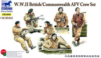 CB35098 British /Commonwealth AFV Crew set