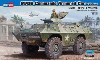 82418 M706 Commando Armored Car in Vietnam
