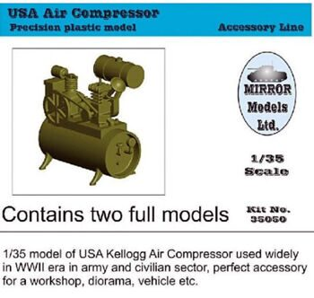 35050 1/35 US Army Air Compressor
