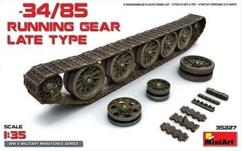 35227  T-34/85 Running Gear. Late Type