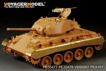 PE35478 1/35 WWII US M24 Chaffee (Early Prod) Light Tank Fenders and Skirts(For Bronco 35069)