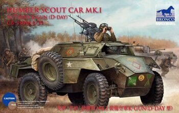 CB35016 1/35  Humber Scout Car Mk. I w/twin k-gun  (D-day version)