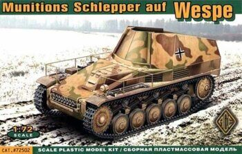 ACE72502 Wespe Ammunition Schlepper