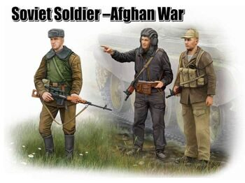 00433 Soviet Soldier- Afgan War