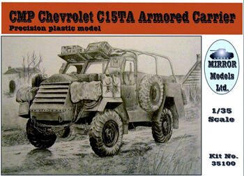 35100 CMP  C15TA Armored Carrier  ( Precision plastic model)