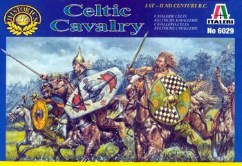6029  Солдатики Celtic Cavalry (1st.-2nd Cent. B.C.)