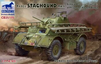 CB35115  T17E1 Staghound Mk.I (with assault bridge)