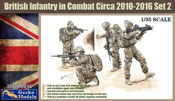 35GM0016 1/35 UK Infantry In Combat 2010~2012 Set 2