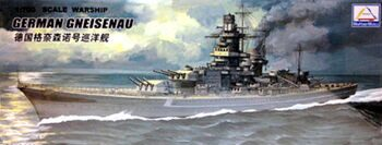 "80916 1/700 German battleship ""Gneisenau"""