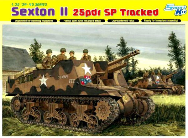 6760 1/35 Sexton II 25pdr SP Tracked - Smart Kit